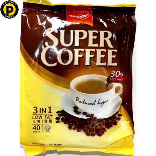 Picture of Super Coffee Sugar Reduced 40x16g