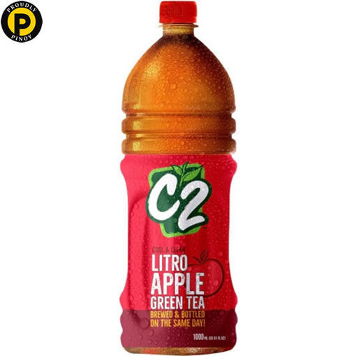 Picture of C2 Green Tea Apple 1L