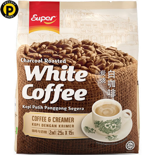 Picture of Super Charcoal 2in1 White Coffee Cream