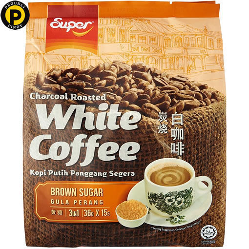 Picture of Super Charcoal Roasted White Coffee Brown