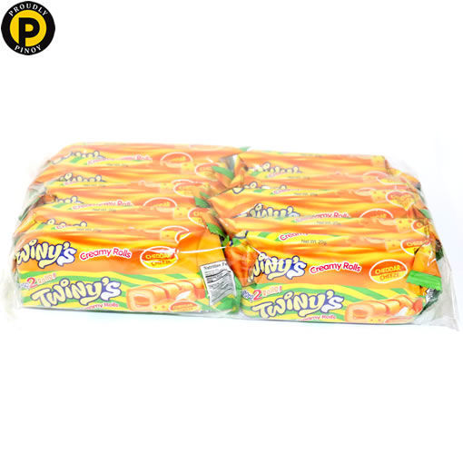 Picture of OK Twinys Roll Creamy Cheese 10x20g