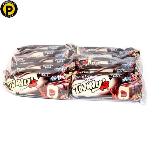 Picture of OK Twinys Roll Choco 10x20g