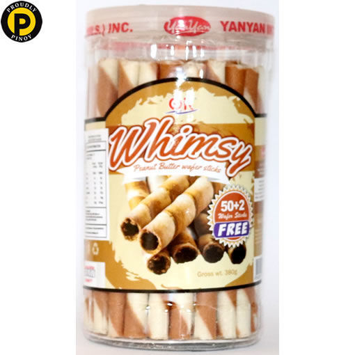 Picture of Ok Whimsy Wafer Sticks Peanut 380g