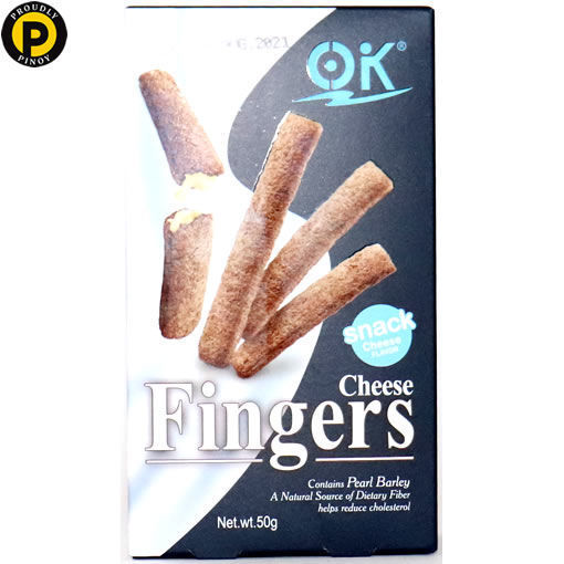 Picture of OK Finger Biscuits Cheese 50g
