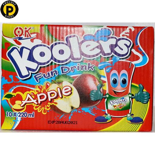 Picture of OK Koolers Fruit Drink Apple 10x220ml