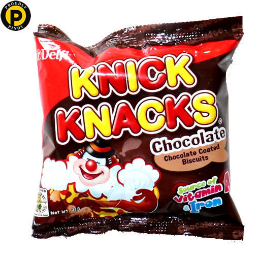 Picture of Knick Knacks Chocolate 28g