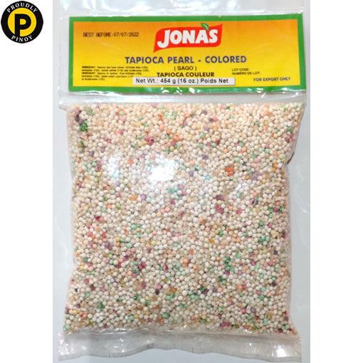 Picture of Jonas Tapioca Pearl Colored 454g