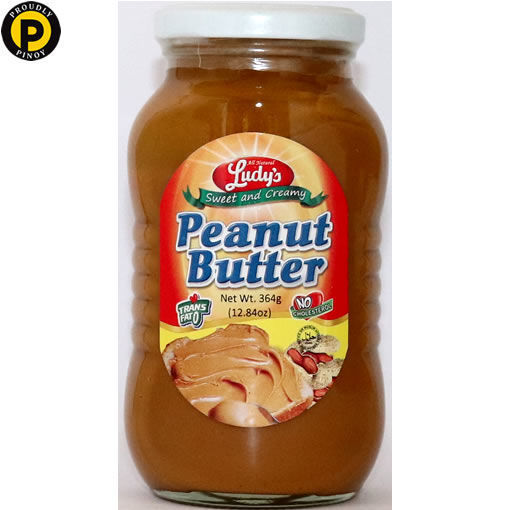 Picture of Ludys Peanut Butter 365g