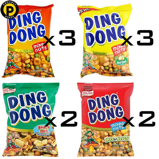 Picture of Deal 11: (3-Regular, 3-Garlic, 2-Chips, 2-Hot)