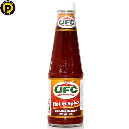 Picture of UFC Banana Sauce Hot& Spicy 320g (L)