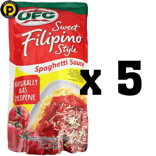 Picture of Multi-Buy Deal 3: (5- UFC Spaghetti Sauce 1kg)