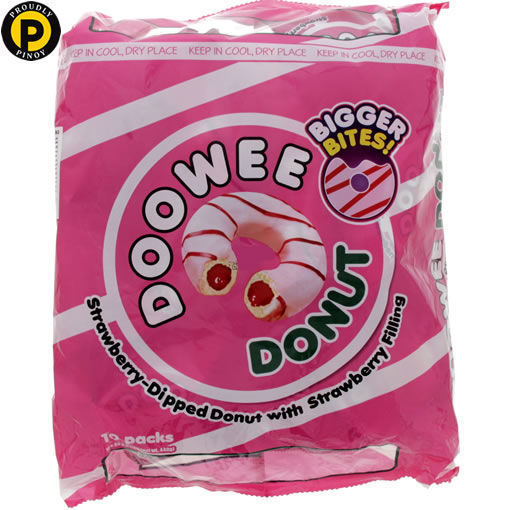 Picture of Doowee Donuts Strawberry 40g