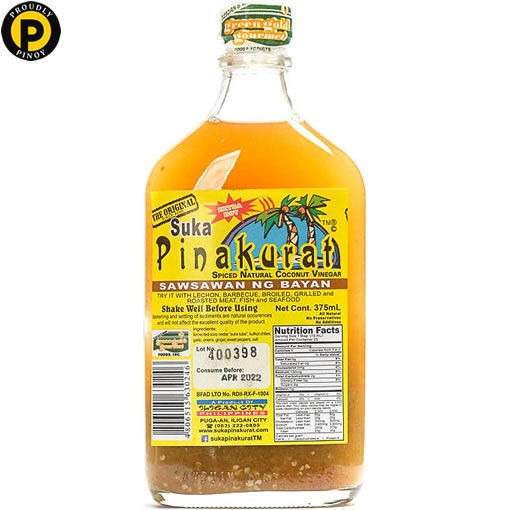 Picture of Pinakurat Spiced Coconut Vinegar 375ml