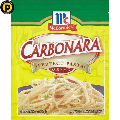 Picture of Mc Cormick Carbonara Pasta Mix 30g