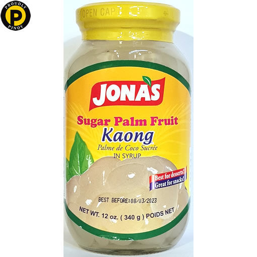 Picture of Jonas Palm Fruit White 340g