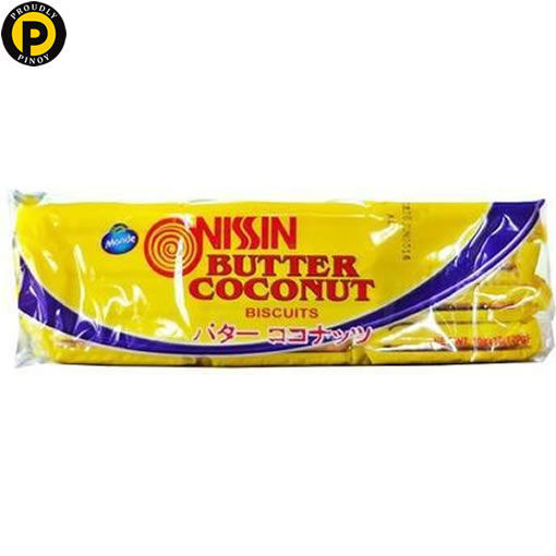 Picture of Nissin Butter Coconut Biscuit 12x10g